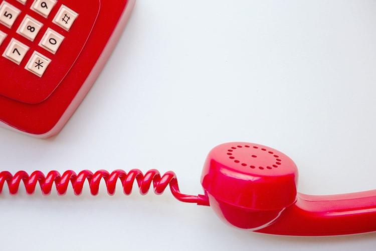 所要時間は10分~程度。簡単なお電話面談を実施!