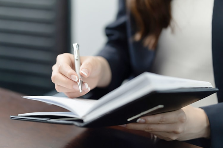 応募先企業の詳細を説明後、応募意思の再確認